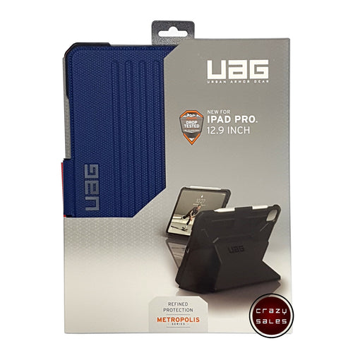 UAG Metropolis Series Case COBALT BLUE for iPad Pro 12.9 4th Gen (2020)