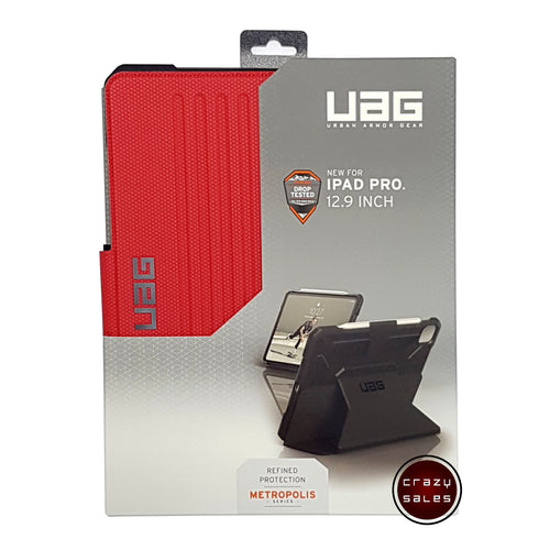 UAG Metropolis Series Case MAGMA RED for iPad Pro 12.9 4th Gen (2020)