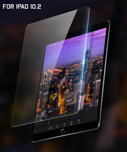 9H Clear Tempered Glass Protector for iPad 7 / 8 10.2