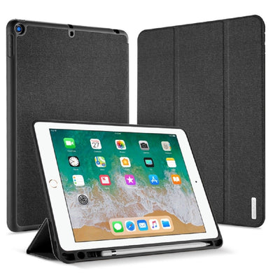 Dux Ducis DOMO Series Folio Flip Case with PENCIL HOLDER for iPad Air , iPad 5th Gen, iPad 6th Gen 9.7