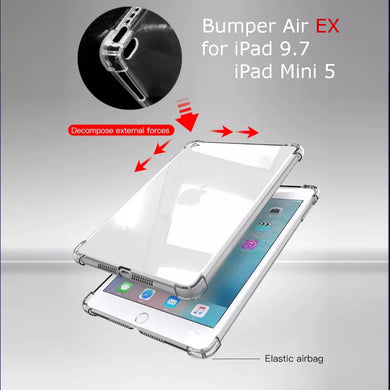 Bumper Air EX Crystal Clear Case for iPad / iPad Mini Series