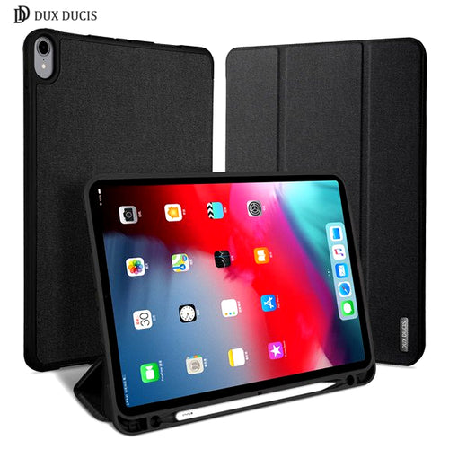 Dux Ducis DOMO Series Folio Case with PENCIL HOLDER for iPad Pro 11 (2018)