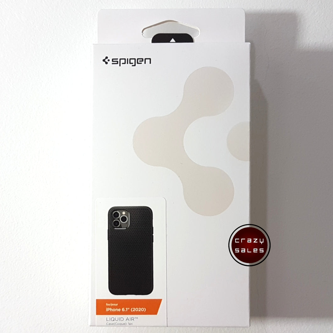 Spigen Liquid Air Case for iPhone 12 / Pro
