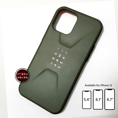 UAG Civilian Series Case OLIVE for iPhone 12 / Mini / Pro / Pro Max