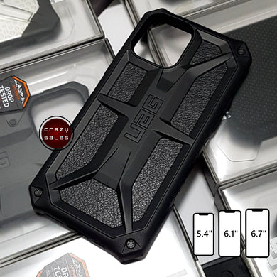 UAG Monarch Series Case BLACK for iPhone 12 / Mini / Pro / Pro Max