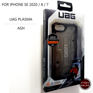 UAG Plasma Case ASH for iPhone SE 2020 / 8 / 7 / 6S / 6