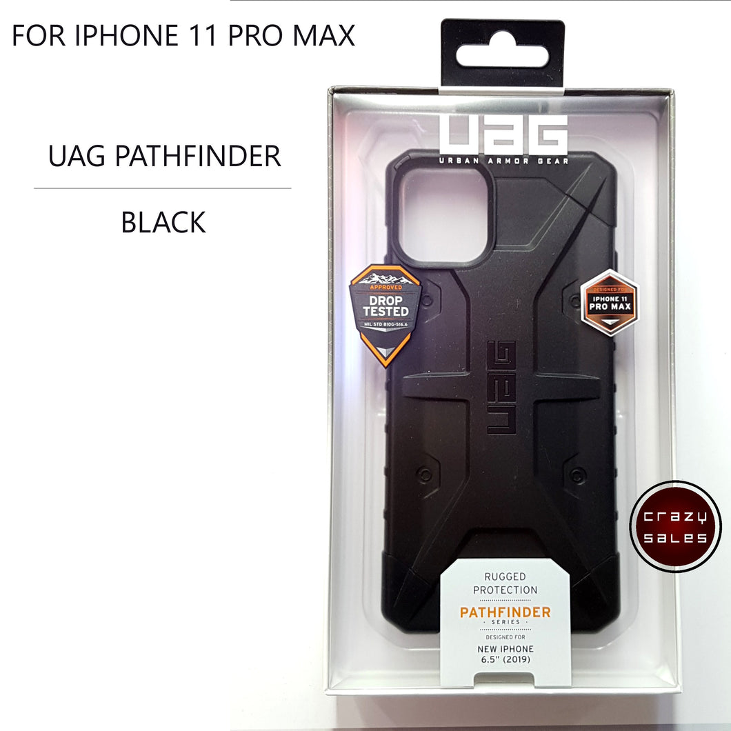 UAG Pathfinder Series Case BLACK for iPhone 11 Pro Max
