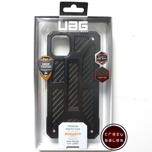 UAG Monarch Case CARBON FIBER for iPhone 11 Pro Max