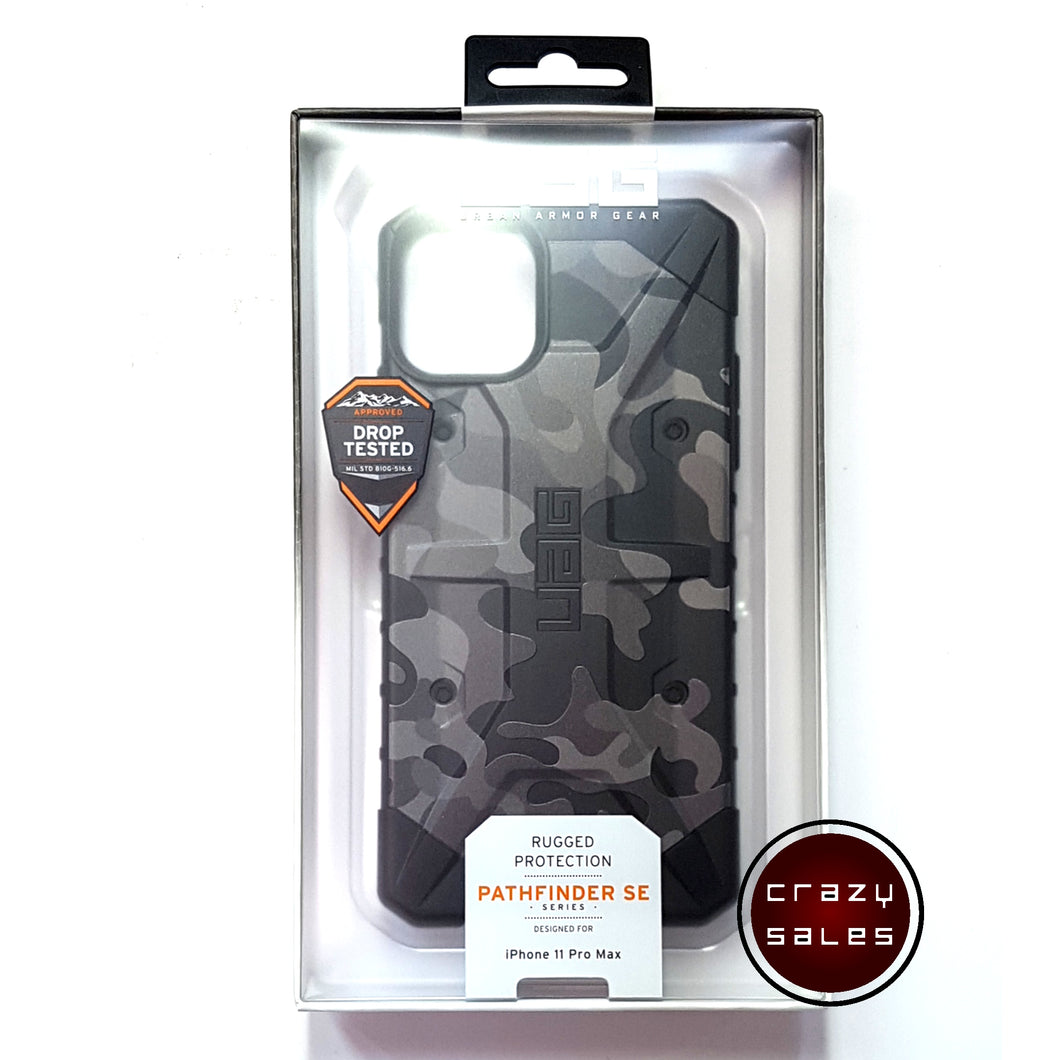 UAG Pathfinder SE Camo Series Case MIDNIGHT for iPhone 11 Pro Max