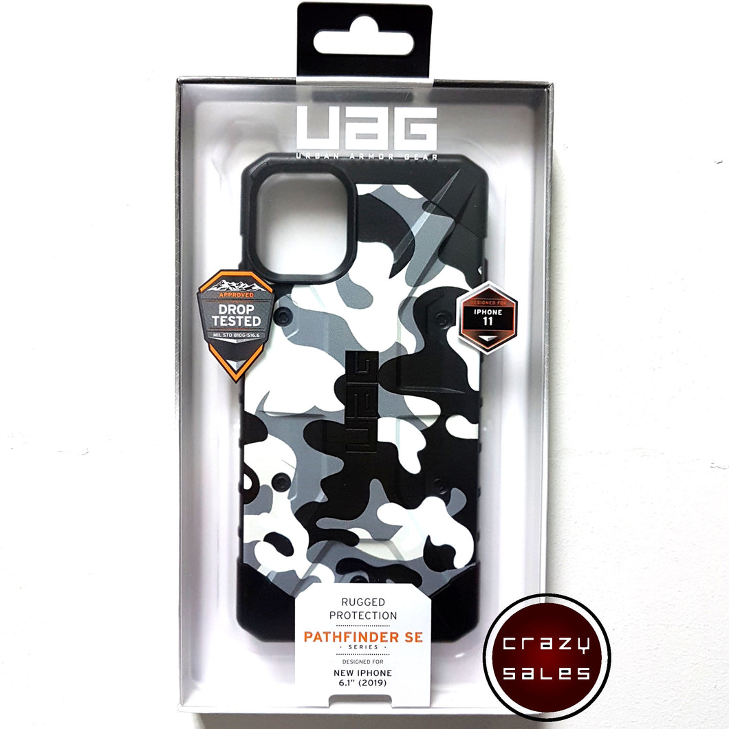UAG Pathfinder SE Camo Series Case ARCTIC for iPhone 11
