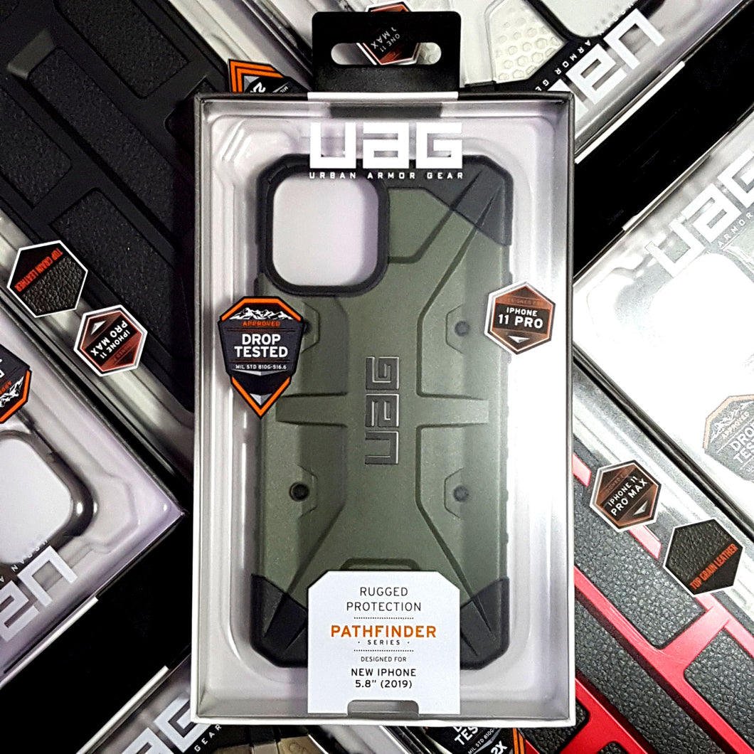 UAG Pathfinder Case OLIVE DRAB for iPhone 11 Pro