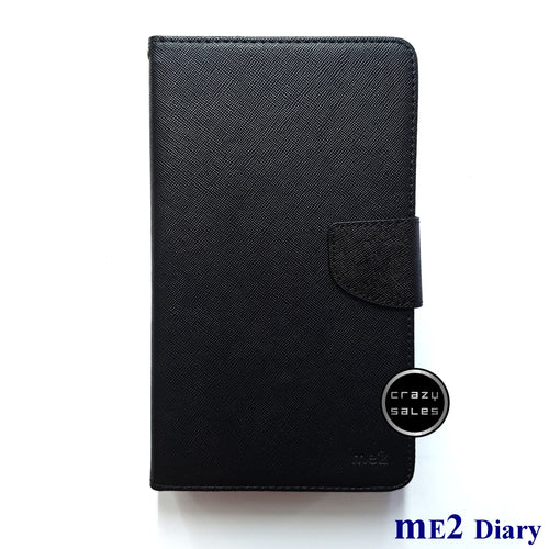 mE2 Diary Case BLACK for Huawei MediaPad T3 7.0