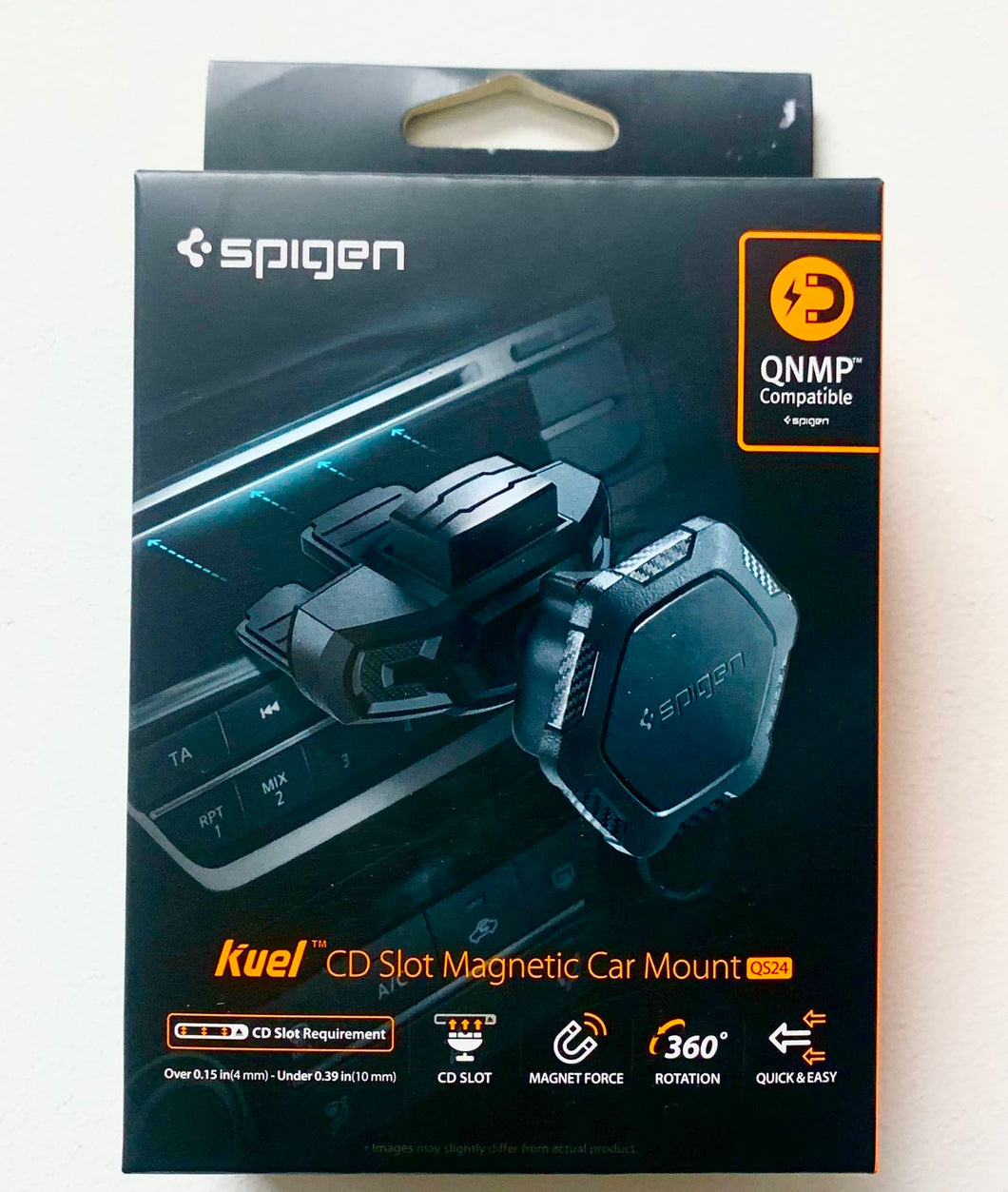 Spigen Kuel QS24 Magnetic CD Slot Car Mount