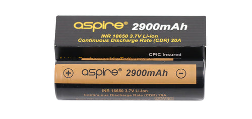 Aspire 18650 Battery - 2900mAh