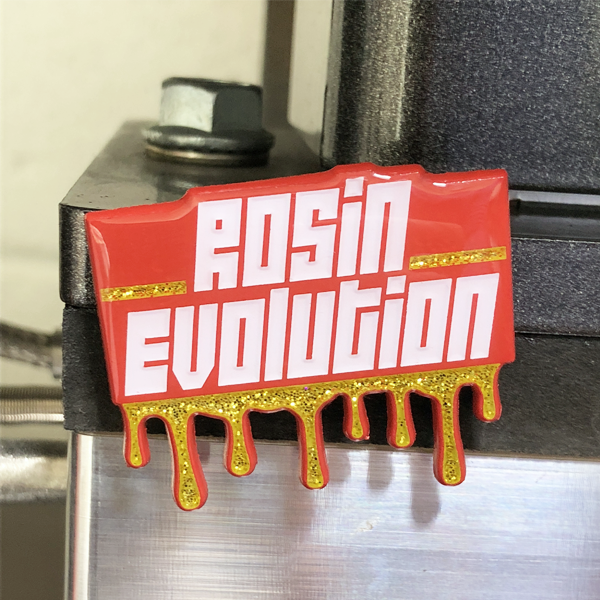 Rosin Press Magnet - Red