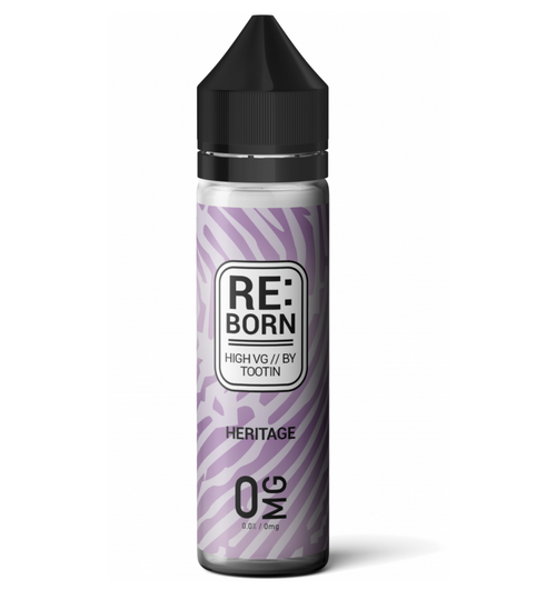 RE:Born - Heritage - 0mg - 50ml shortfill