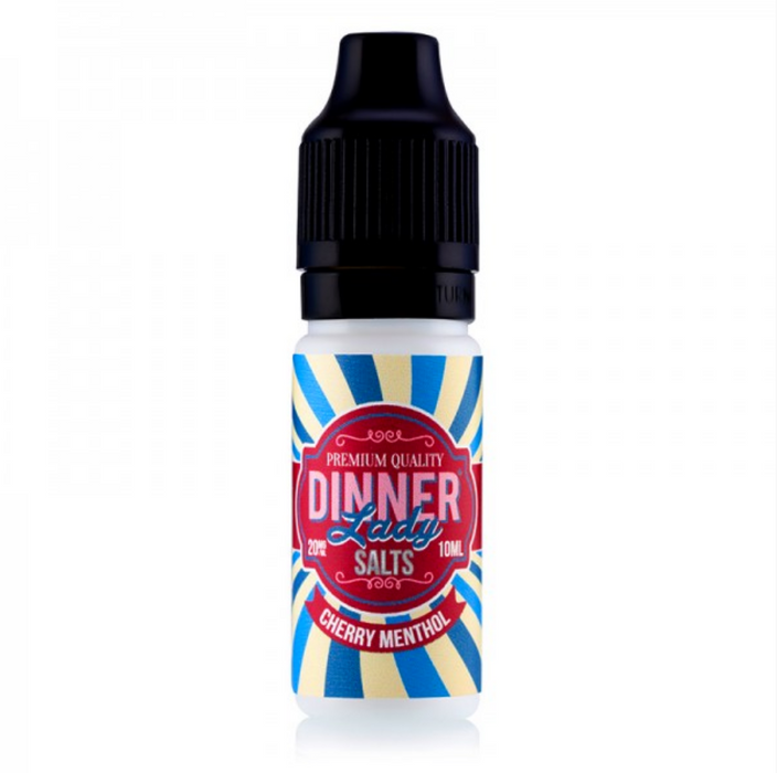 Cherry Menthol By Dinner Lady Salts 10ml (10mg)