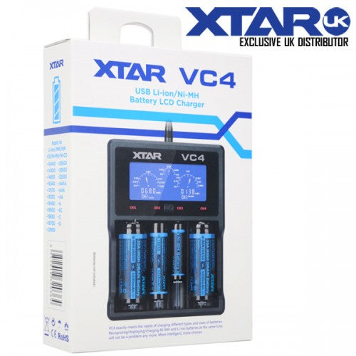 VC4 Charger by Xtar