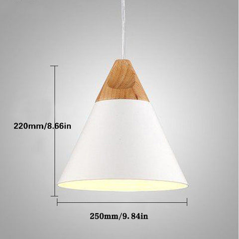 Modern wood pendant lights lamparas colorful aluminum lamp shade modern wood pendant lights lamparas colorful aluminum lamp shade luminaire dining room lights pendant lamp for aloadofball Image collections