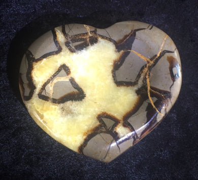 Septarian Stone Heart - Bowl
