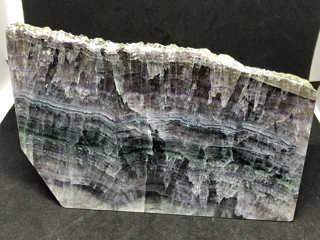 Fluorite Purple and Green Healing Slab, Flourite, - Goddess Stone