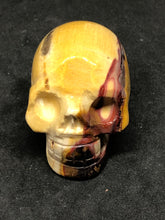 Mookaite Skull, Carvings, - Goddess Stone