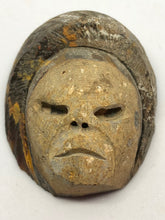 "Agate Carving hand made, ""The Mask as titled by the artist."", Carvings, - Goddess Stone"
