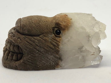 Crystal Cluster Lion Carvings hand made, Carvings, - Goddess Stone