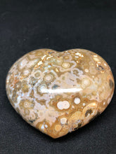 Ocean Jasper Polished Stone Heart, Septarian, - Goddess Stone