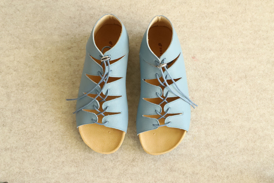 FLOW lace-up sandals ankle