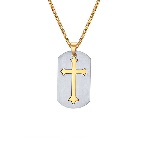 Punk-Removable-Cross-Necklace-Free-24-Chain-Surgical-Steel-Cross-Pendant-Necklace-for-Christian-Jesus