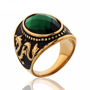 Vintage Dragon Ring for Men
