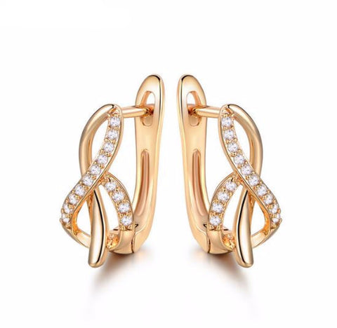 Fashion-Design-Hoop-Earring-for-Women-Gold-Platinum-Plated-Earing-Crystal-CZ-Zircon-Engagement