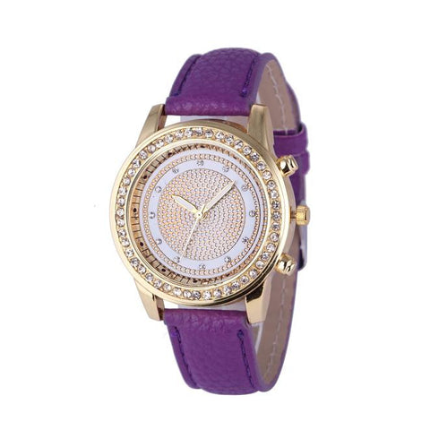 New Women Crystal Watches [8 Colors]
