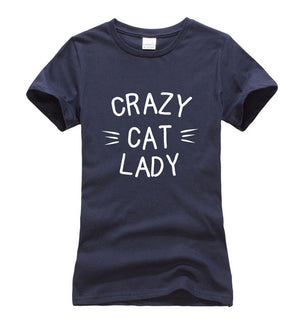 Crazy Cat Lady T-shirts [11 Colors]