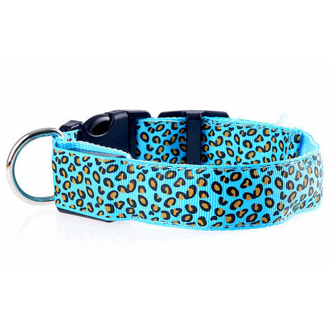 Image of Flashing In Dark LED Dog Collar [ 6 Colors]