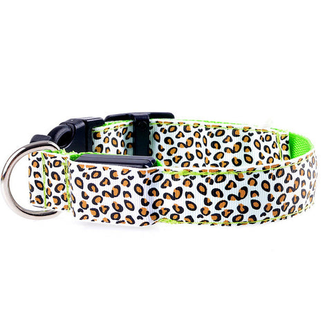 Flashing In Dark LED Dog Collar [ 6 Colors]