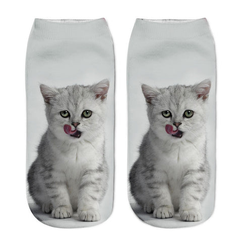 New-3D-Printing-Women-Socks-Brand-Sock-Fashion-Unisex-Socks-Cat-Pattern-Meias-Feminina-Funny