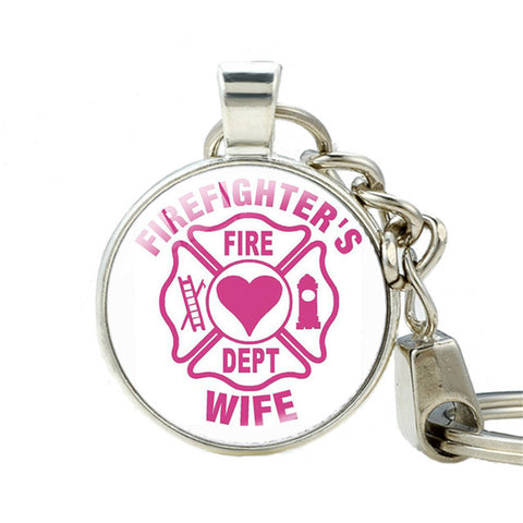 Image of Stylish Firefighter Keychains [15 Variants]