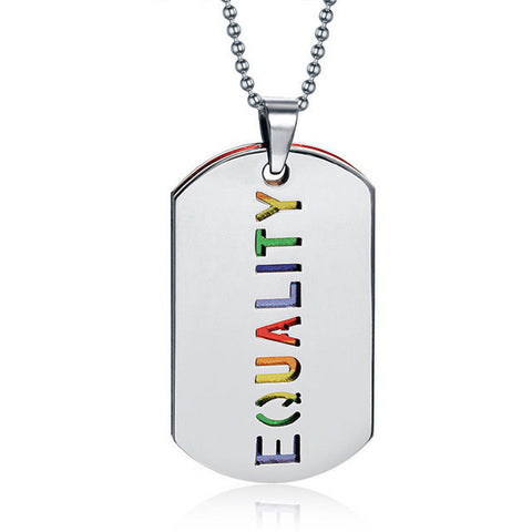 Image of LGBTQ+ Pendant [ 5 Variants}
