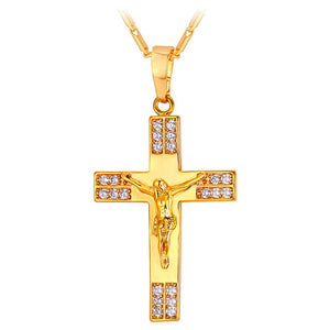 Diamond Crucifix Pendant