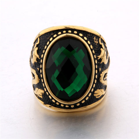 Image of Vintage Dragon Ring for Men