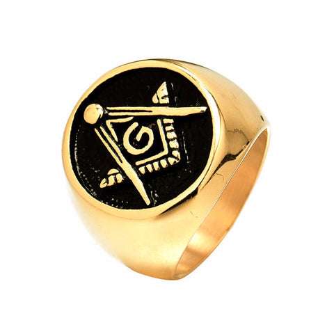 Letter G Gold/Silver Plated Ring