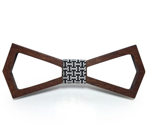 Wooden Bow Tie - Travel with Style