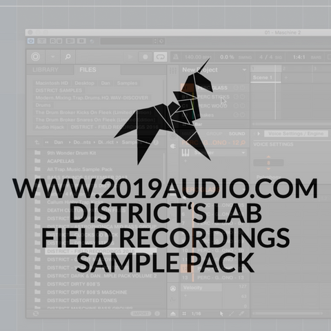DISTRICT'S LAB: FIELD RECORDINGS SAMPLE PACK
