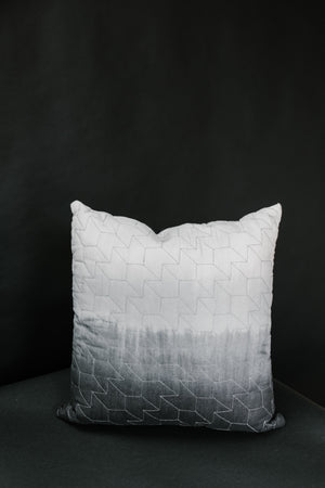 Dip Dye Quilted Pillow