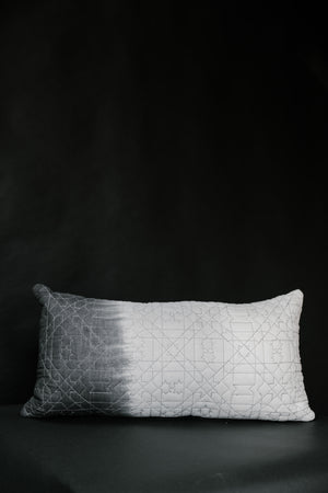 Dip Dye Quilted Pillow - Elizabeth Hales Design