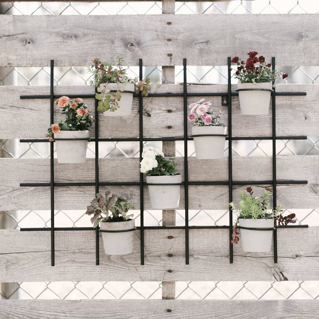Grid Wall Planter