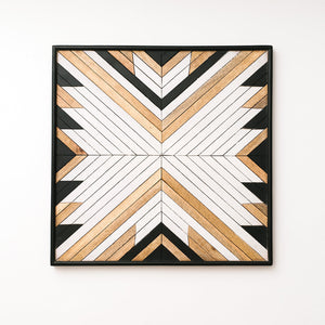 Aztec Wood Art