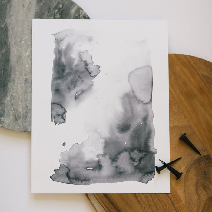 Floating Watercolor Print